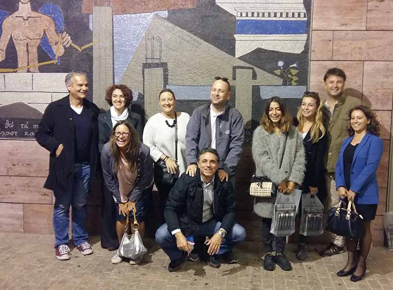 Turkish Press Trip Group