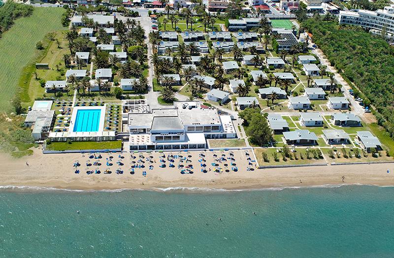 Creta Beach Panoramic View