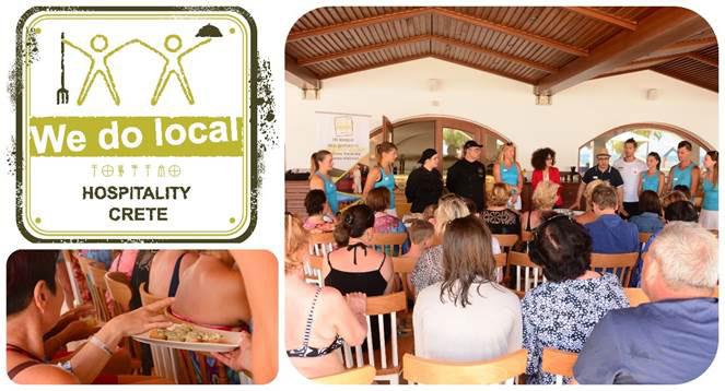 """Η εμπειρία να ζεις σαν...Κρητικός!  """"We do local Days"""" στο Creta Maris Beach Resort"""