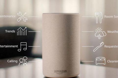 """Η """"Alexa"""" της Amazon στην υπηρεσία των επισκεπτών των Marriott Hotels"""