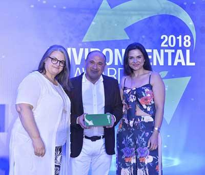Βραβείο για τις σημαντικές δράσεις προς το περιβάλλον  για τα Cactus Hotels!