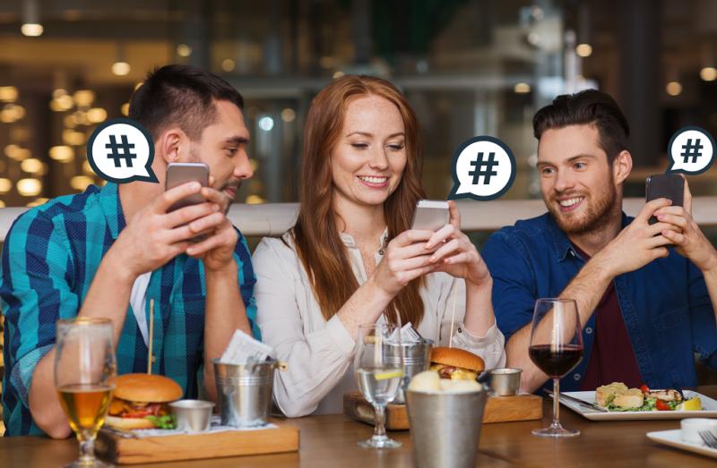 3 τρόποι για να χρησιμοποιείς τα hashtags στο εστιατόριό σου!