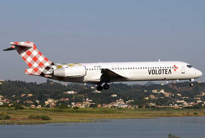 Volotea: Nέα πτήση Γένοβα - Κέρκυρα