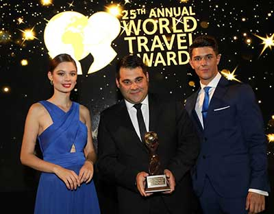 Santo Maris Oia Luxury Suites & Spa:  Βραβείο Αριστείας στα World Travel Awards