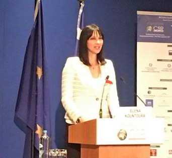 """Ε.Κουντουρά: """"Καλούμε τον ιδιωτικό τομέα για να δημιουργήσουμε όλοι μαζί ακόμη μεγαλύτερες ευκαιρίες στην ανάπτυξη"""""""