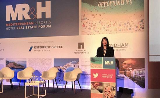 Έλενα Κουντουρά: «Η Ελλάδα, η πιο ελκυστική ευκαιρία στη Μεσόγειο και την Ευρώπη για τουριστικές επενδύσεις»