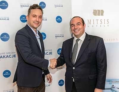 Ο Όμιλος Mitsis Hotels διευρύνει τη συνεργασία του με το Grecos, ενισχύοντας την παρουσία του στην Πολωνική αγορά