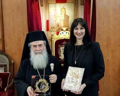 Aνάπτυξη του προσκυνηματικού τουρισμού στους Αγίους Τόπους και την αύξηση της τουριστικής κίνησης από το Ισραήλ
