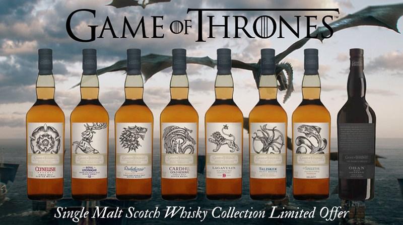 Νέα Συλλογή Game of Thrones Single Malt Ουίσκι
