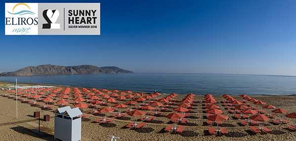 Το Eliros Mare βραβεύτηκε με Sunny Heart Silver Award