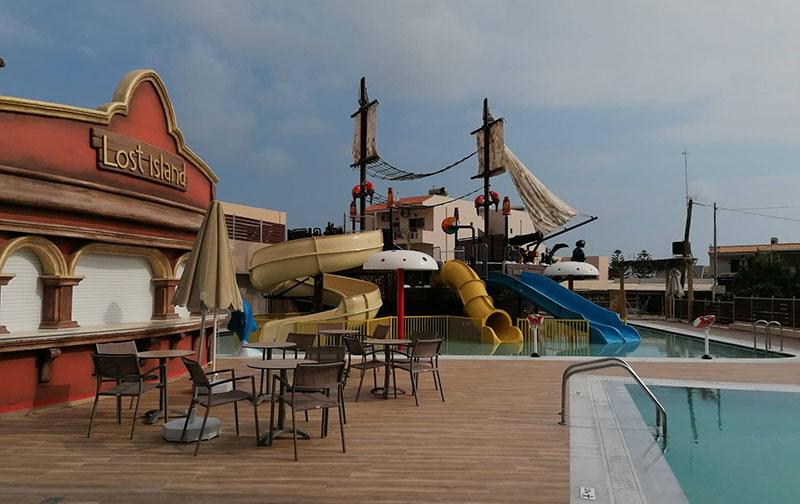 Το νέο εντυπωσιακό water park των Cactus Hotels για μικρούς και μεγάλους