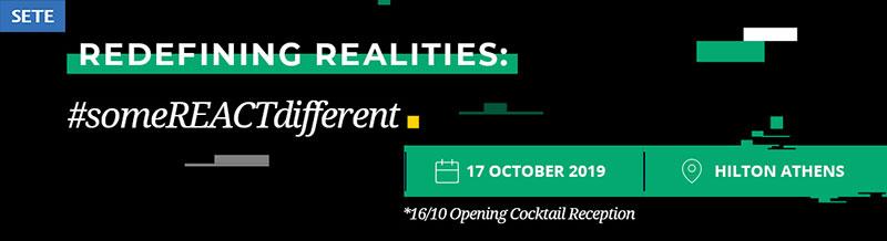 Ετήσιο Συνέδριο ΣΕΤΕ «Redefining Realities: #someREACTdifferent»: Οι νέες ταξιδιωτικές τάσεις, οδηγός των εξελίξεων στον τουρισμό