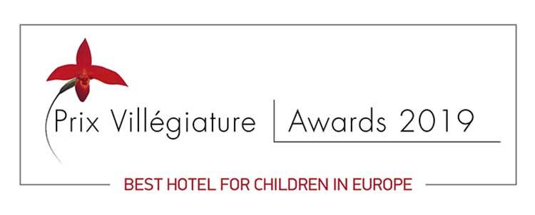 """Το ξενοδοχείο OUT OF THE BLUE, Capsis Elite Resort βραβεύεται με το τίτλο «Best Hotel for Children in Europe» στα """"Prix Villégiature 2019"""""""