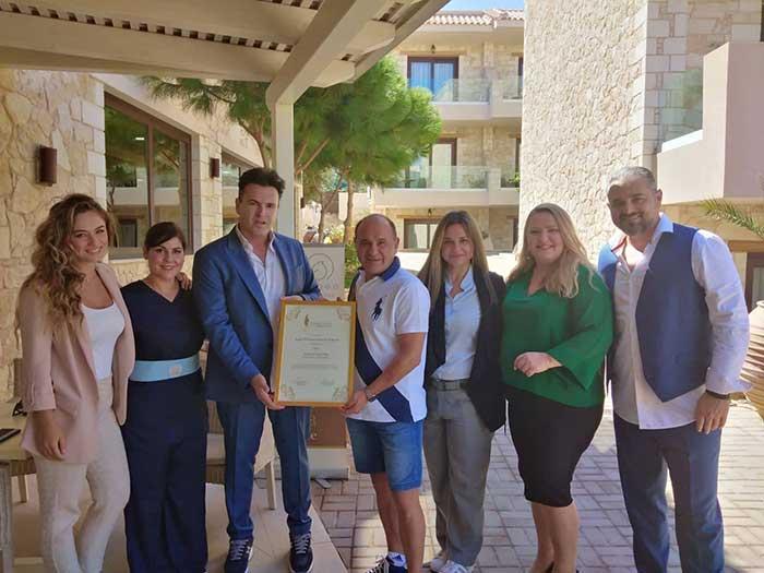 Το Aegeo Spa Cactus Royal Spa & Resort ανάμεσα στους καλύτερους πρεσβευτές υπηρεσιών ευεξίας
