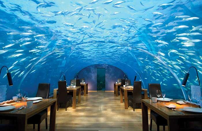 Υποθαλάσσιο Εστιατόριο Vol1:  Ithaa Restaurant
