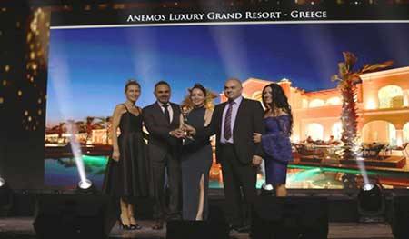 Βράβευση για το Anemos Luxury Grand Resort στα World Luxury Hotel Awards!