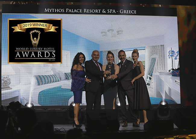 Βράβευση για το Mythos Palace Resort & Spa στα World Luxury Hotel Awards!