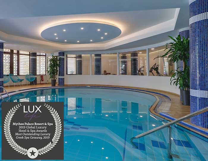 Βράβευση του Mythos Palace Resort & Spa από το LUXLife Magazine
