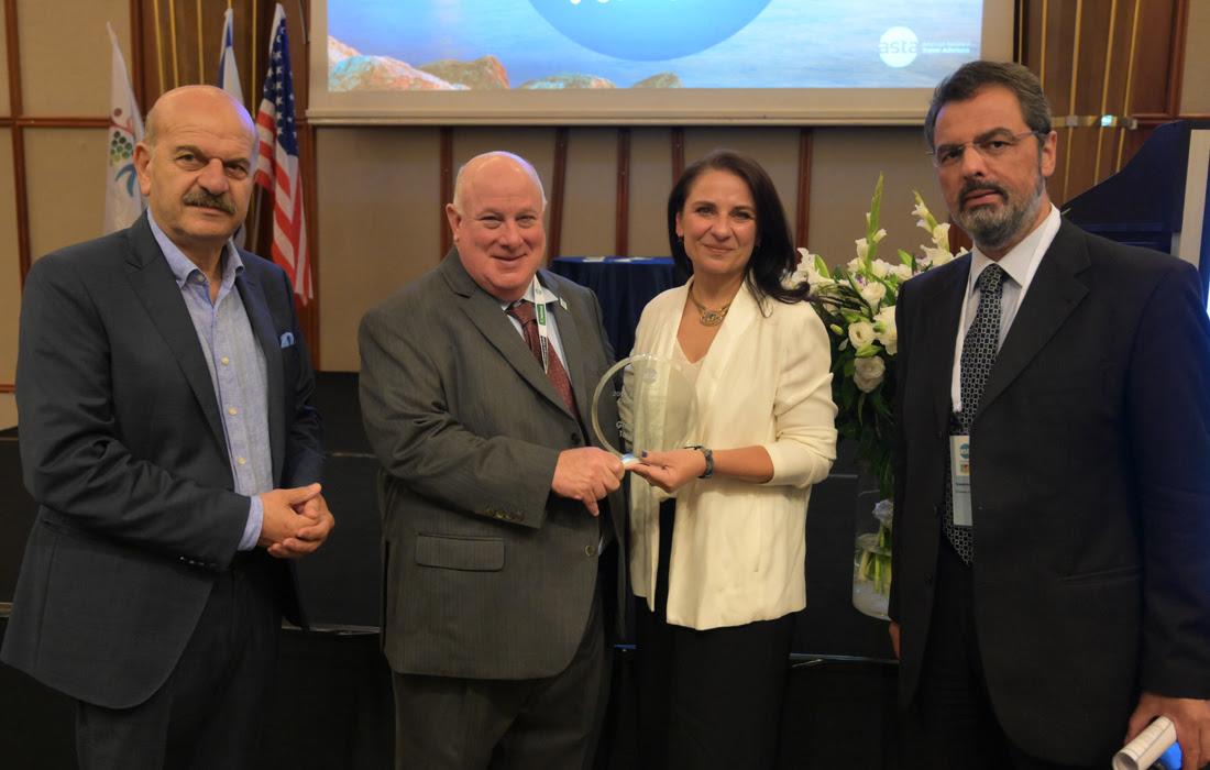 Καλύτερος partner της ASTA ο ΕΟΤ: Σημαντικές πρωτοβουλίες για τις αγορές των ΗΠΑ και του Ισραήλ