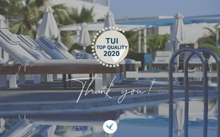 Tο Mythos Palace διακρίνεται ως ένα από τα καλύτερα ξενοδοχεία της TUI