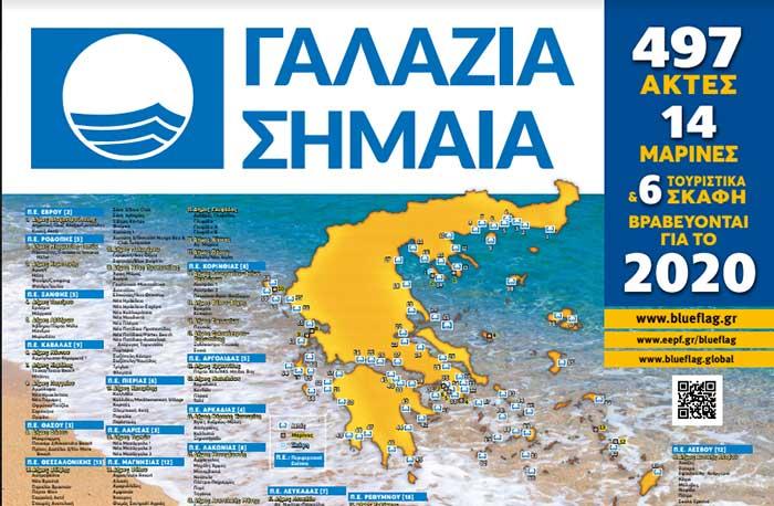 """Βραβεύσεις Προγράμματος """"ΓΑΛΑΖΙΑ ΣΗΜΑΙΑ"""" 2020"""