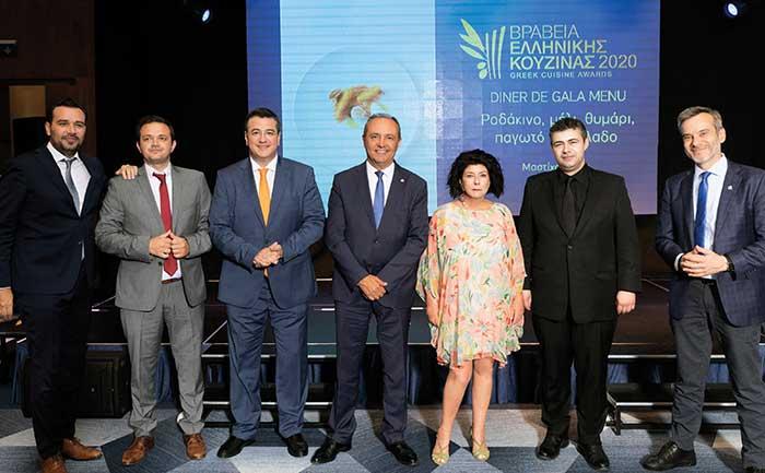 ΕΛΑΜΨΕ ΤΟ MAKEDONIA PALACE στα Βραβεία Ελληνικής Κουζίνας «Αθηνόραμα» 2020