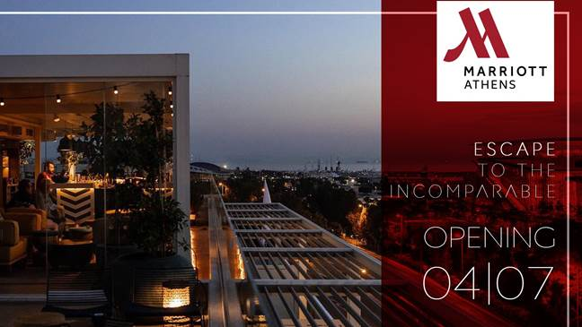 Το Athens Marriott Hotel άνοιξε τις πόρτες του για το κοινό!