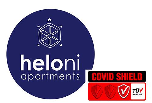 Η Heloni Apartments απέκτησε από την TŪV Austria πιστοποίηση Covid Shield