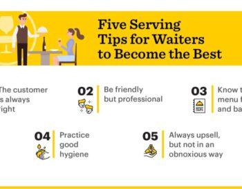 Πώς θα γίνεις ο καλύτερος σερβιτόρος;